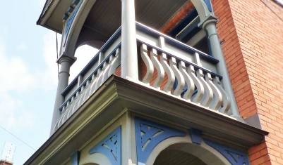 Two-Storey Heritage Porch Restoration