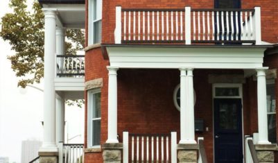 NCC Reproduction porch railing and spindles