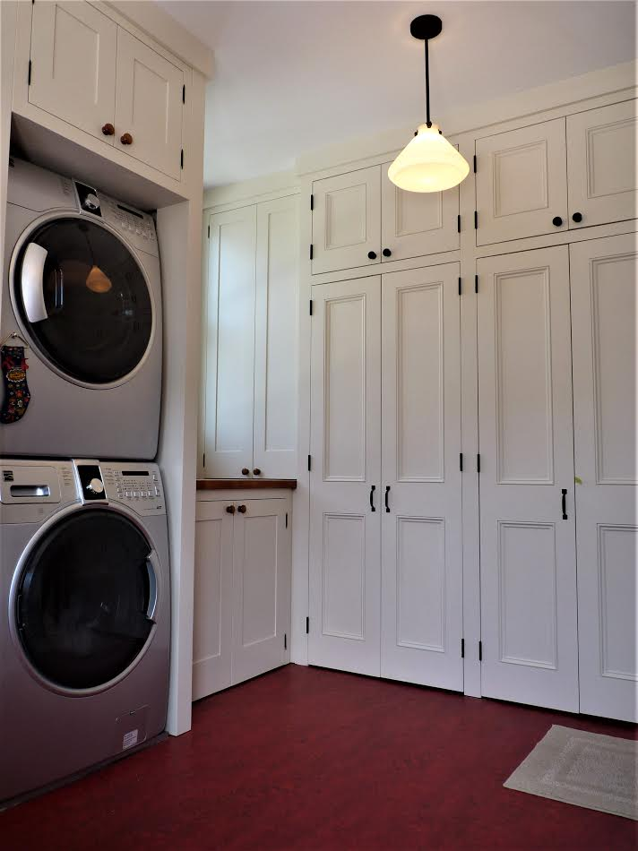 Mudroom inc. Washer Dryer surround