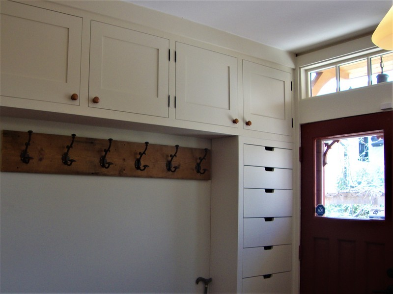 Heritage Carpentry Company Ottawa mudroom
